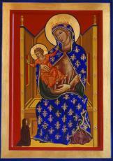 027 - Bogorodica z Detetom in donatorjem