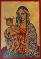 024 - Marija s stoječim Jezusom