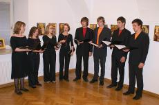 Pevski zbor Solelej je zapel nekaj pesmi