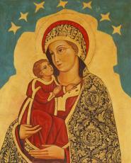 Mati Božja z detetom