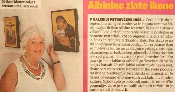 Slovenske novice 23.8.2011